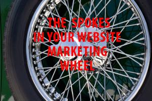 spokes in Marketing wheel